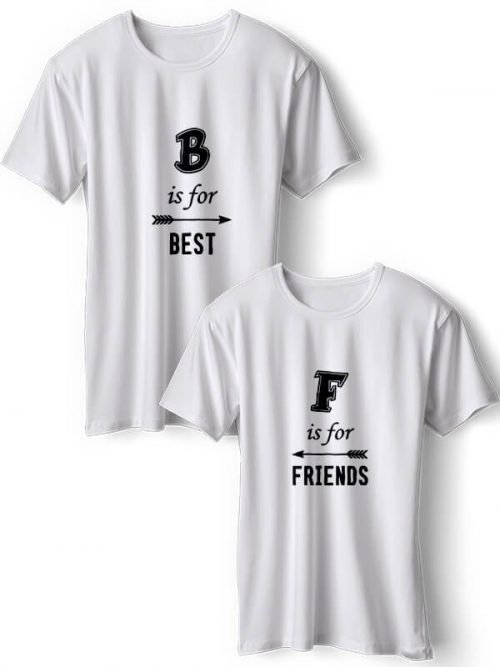 F is for Best Friends T-shirt