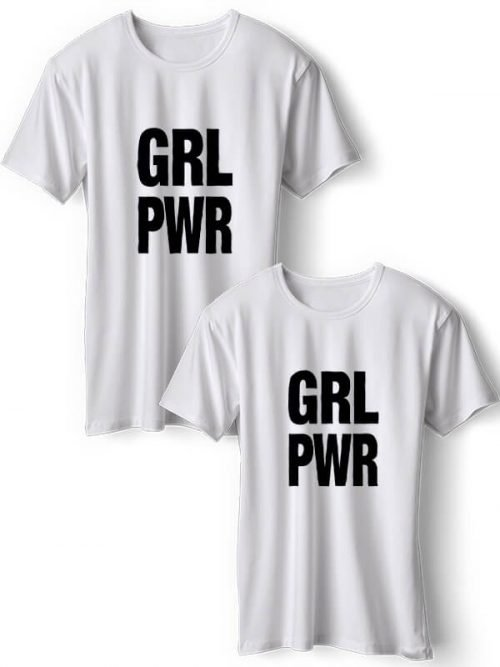 Girl Power BFF T-Shirts Wit