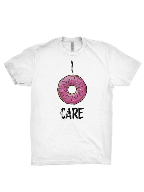 I DoNut Care t-shirt
