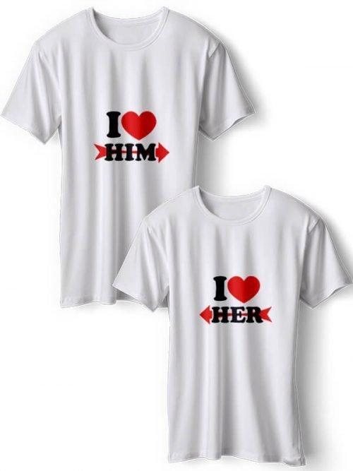 I Love Him Koppel T-Shirts