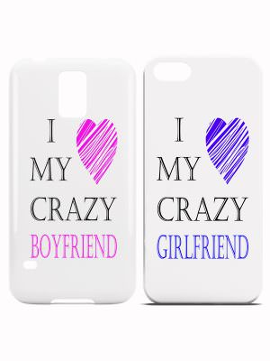 I love my crazy boyfriend girlfriend hoesjes