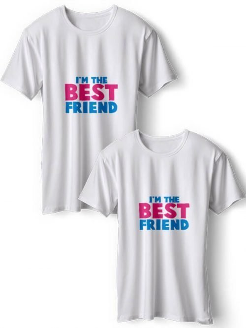I m the Best Friend BFF T-Shirts Wit