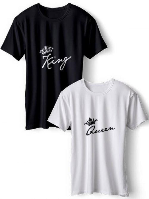 King and Queen Koppel T-Shirts
