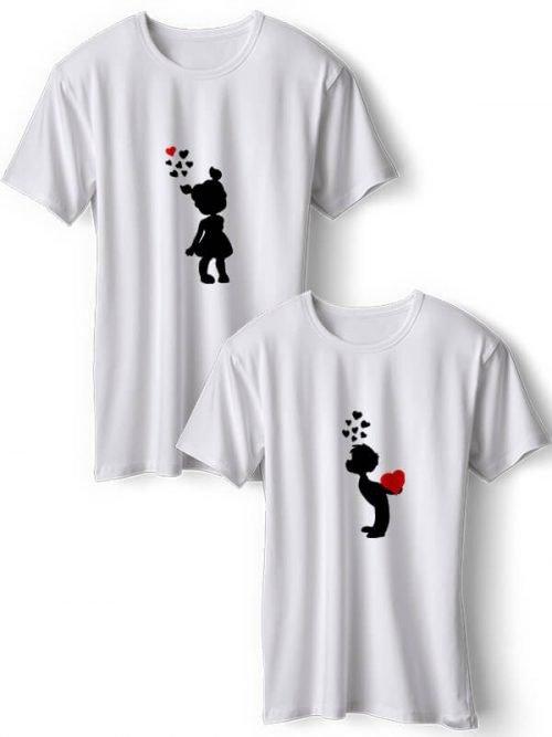 Omhelzing van Liefde T-Shirts