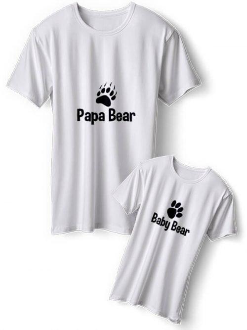 Papa Bear Vader Zoon T-Shirts