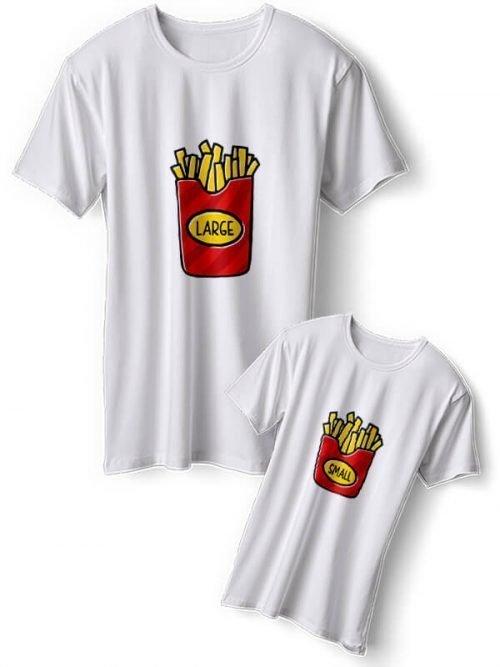 Patat Papa Zoon T-Shirts