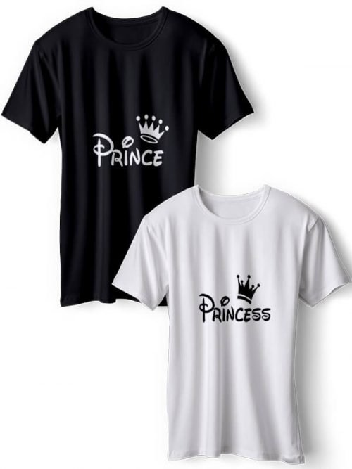 Prince en Princess Koppel T-Shirts