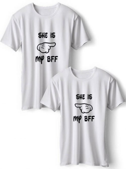 She is my BFF T-Shirts Wit
