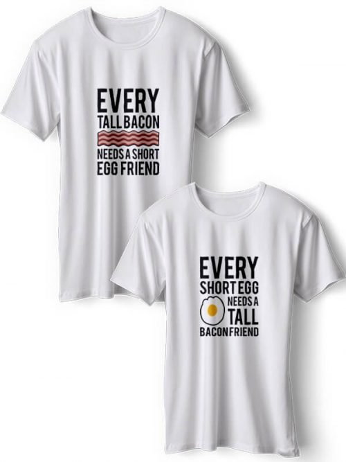 Taal Bacon BFF T-Shirts