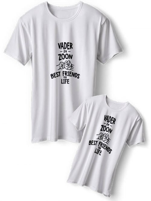 Vader en Zoon Best Friends T-Shirts