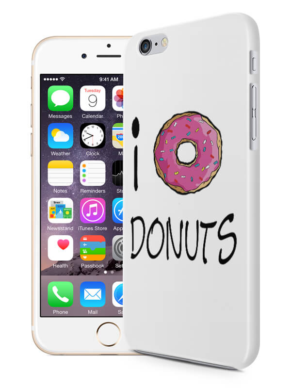 i love donuts hoesje