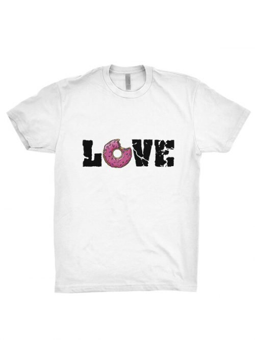 love donut t-shirt