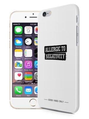 Alergic to Negativity Quote Hoesje