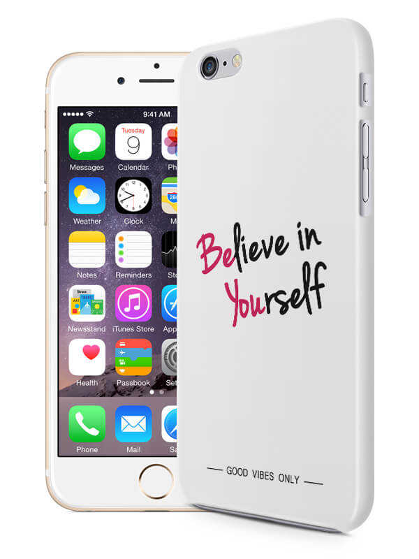 Believe in Yourself Quote Hoesje