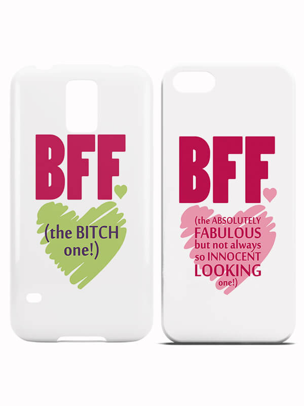 Bitch and Fabulours BFF Hoesjes