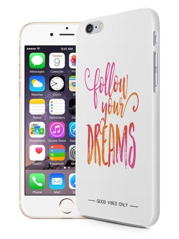 Follow Your Dreams Quote Hoesje