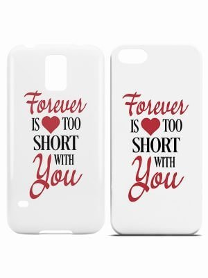 Forever is too Short Hoesje