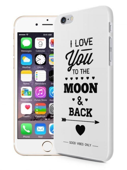 I Love You to the Moon Hoesje