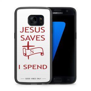 Jesus Saves I Spend 2d