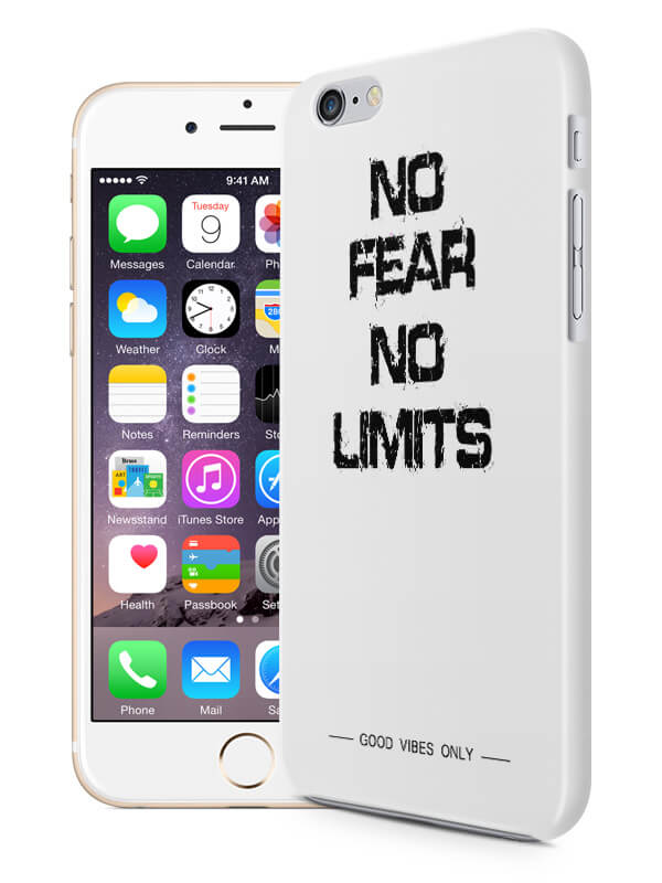 No Fear No Limits Hoesje