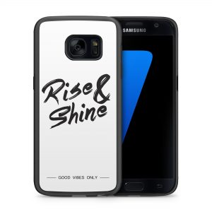 Rise and Shine Quote Hoesje 2d