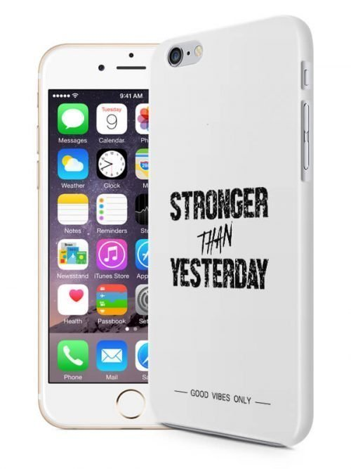Stronger than Yesterday Hoesje