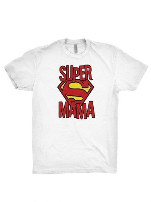 Super Mama T-Shirt Red