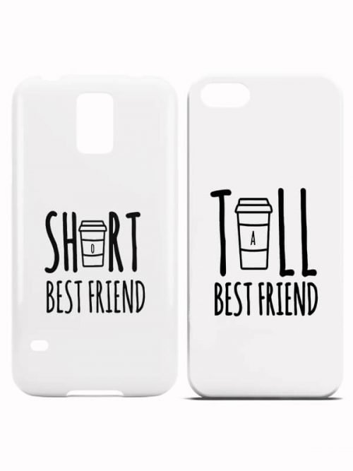 Tall Short Best Friend Hoesjes