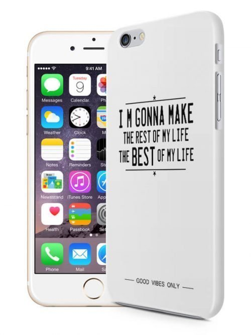 The Best of my Life Hoesje