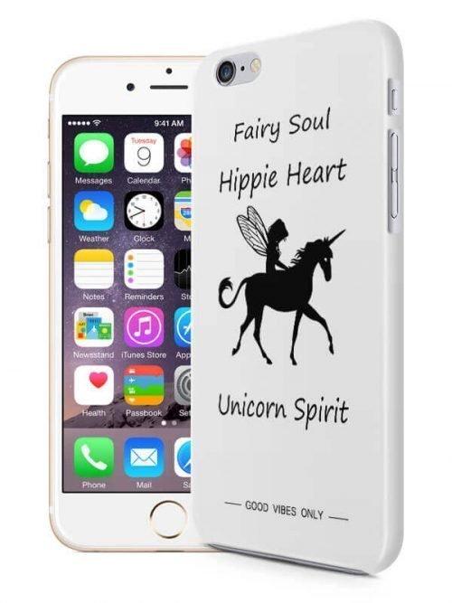 Unicorn Spirit Hoesje Good Vibes Only Hoesjes