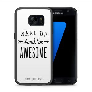 Wake Up Be Awesome Hoesje 2d