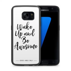 Wake Up and Be Awesome Hoesje 2d