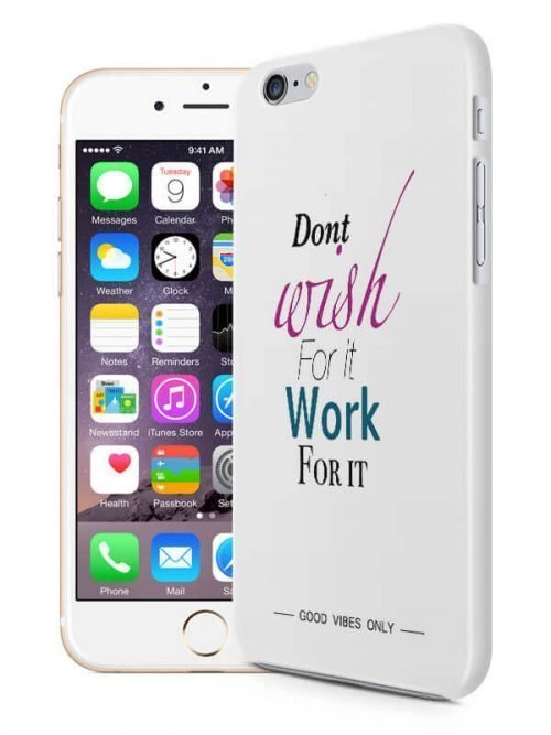 Work for It Hoesje