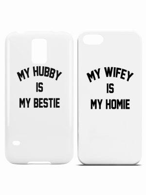 Hubby Wifey Telefoonhoesjes