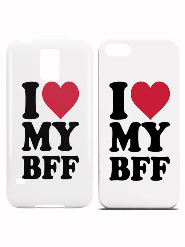 BFF Hoesjes I Love my BFF