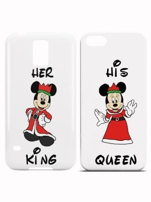 King Queen Disney Hoesjes
