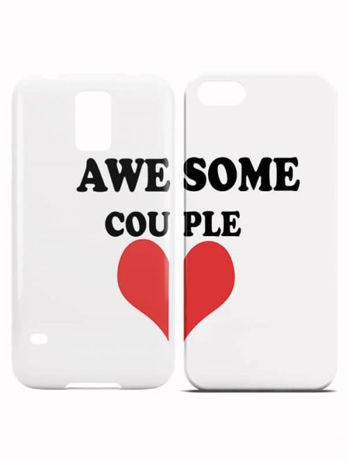 Awesone Couple Koppel hoesjes
