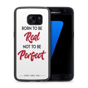 Born to be Real not Perfect Hoesje 2d