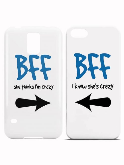 Crazy BFFS Hoesjes