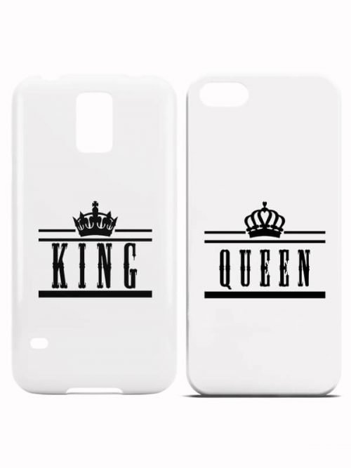 King Queen Crown Hoesjes