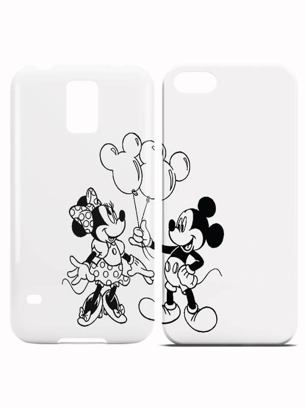 Mickey and Minnie Amorous Koppelhoesjes