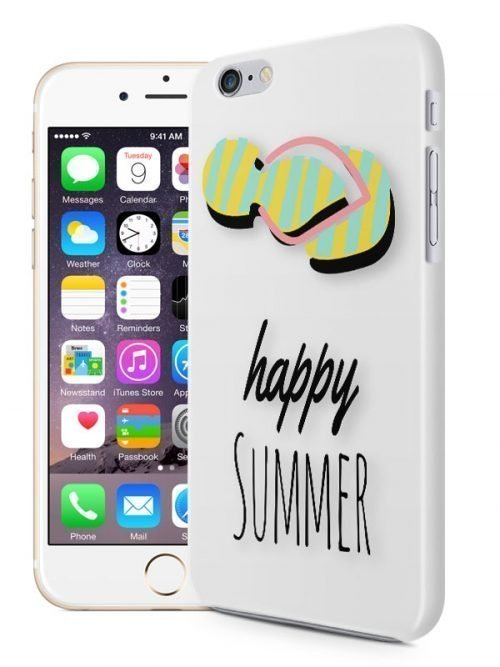Telefoonhoesje Happy Summer