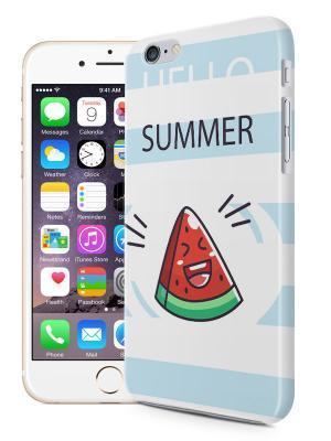 Telefoonhoesje Hello Summer Watermelon