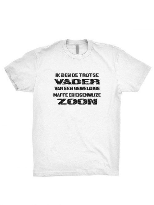 vader en eigenwijze zoon T-Shirt
