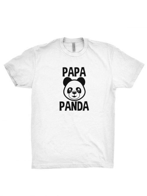 panda papa t shirt