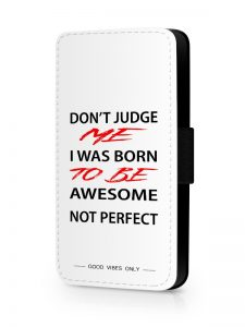 AWESOME NOT PERFECT HOESJE