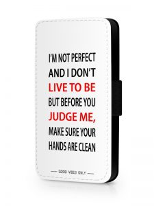 I'm not Perfect Hoesje